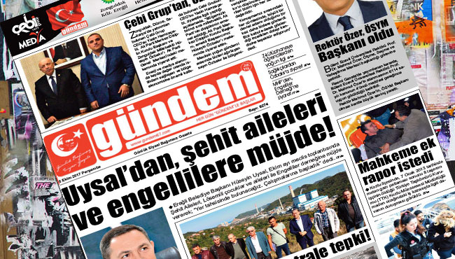 05 Ekim 2017 Gündem Gazetesi