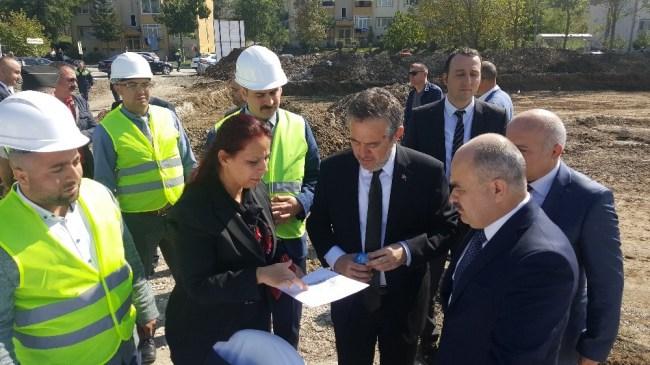 Bakan Yardımcısı Karabay Rektör çakara ziyaret etti