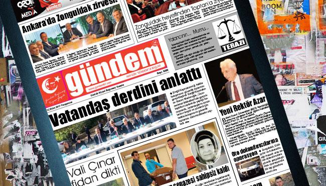 12 Ekim 2017 Gündem Gazetesi