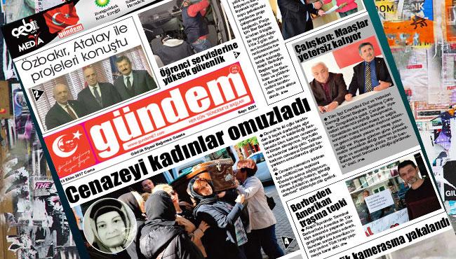 13 Ekim 2017 Gündem Gazetesi