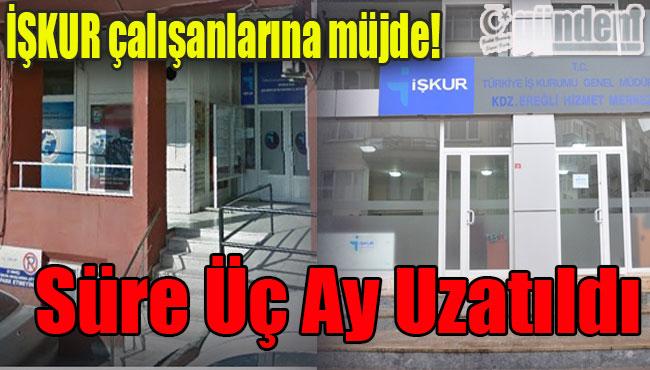 Tosun'dan İŞKUR çalışanlarına müjde!