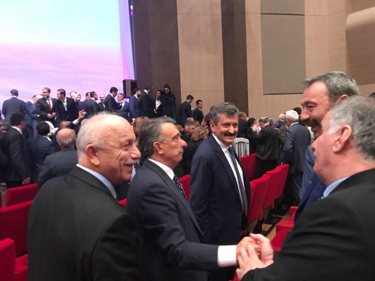 Özbakır ve Osman Ak, Bakan Soylu'nun düğününde buluştu