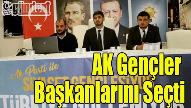 AK Gençler Başkanlarını seçti