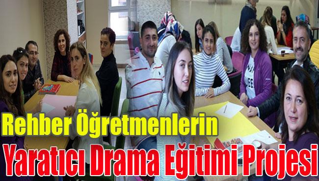 Rehber Öğretmenlerin Yaratıcı Drama Eğitimi Projesi