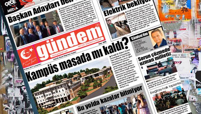 18 Ekim 2017 Gündem Gazetesi