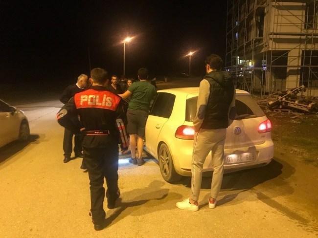 Ehliyetsiz sürücü polis ekiplerinden kaçamadı