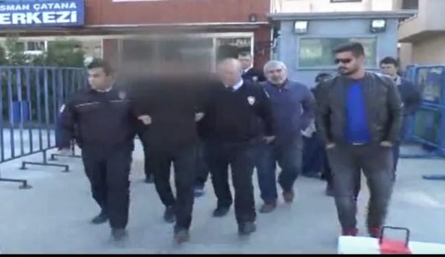 Düzce'de polise kafa atan şahıs tutuklandı