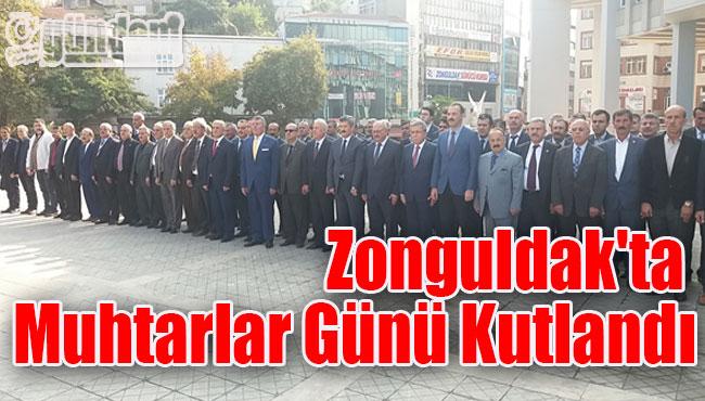 Zonguldak'ta Muhtarlar Günü Kutlandı