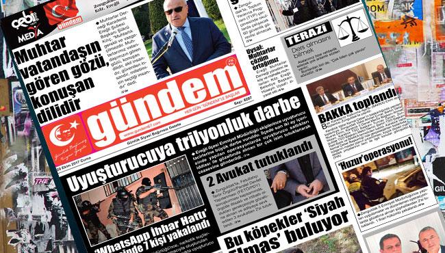 20 Ekim 2017 Gündem Gazetesi
