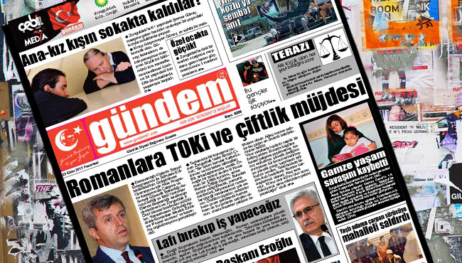 23 Ekim 2017 Gündem Gazetesi
