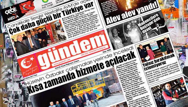 24 Ekim 2017 Gündem Gazetesi