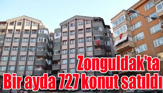 Zonguldak'ta Bir ayda 727 konut satıldı