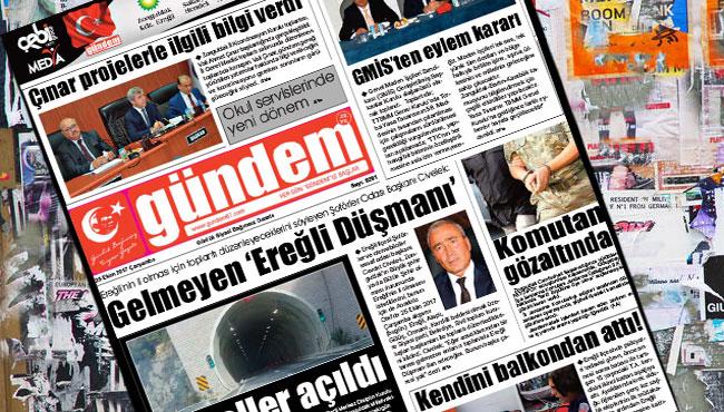 25 Ekim 2017 Gündem Gazetesi