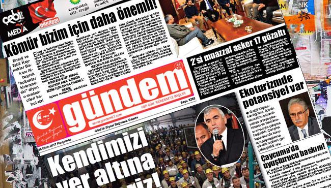 26 Ekim 2017 Gündem Gazetesi