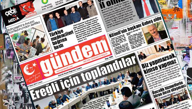 27 Ekim 2017 Gündem Gazetesi