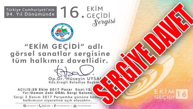 Başkan Uysal'dan Sergiye davet