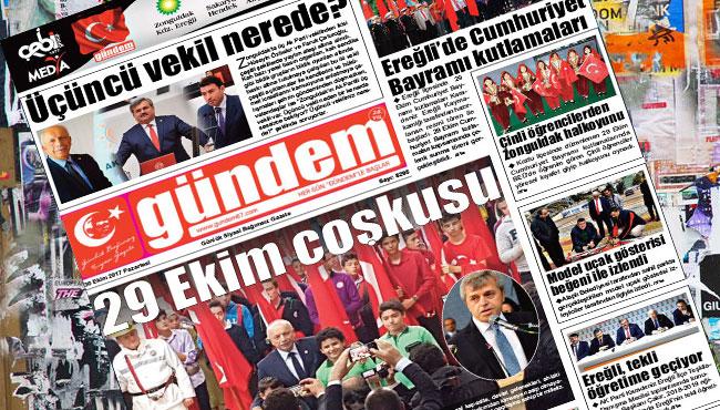 30 Ekim 2017 Gündem Gazetesi