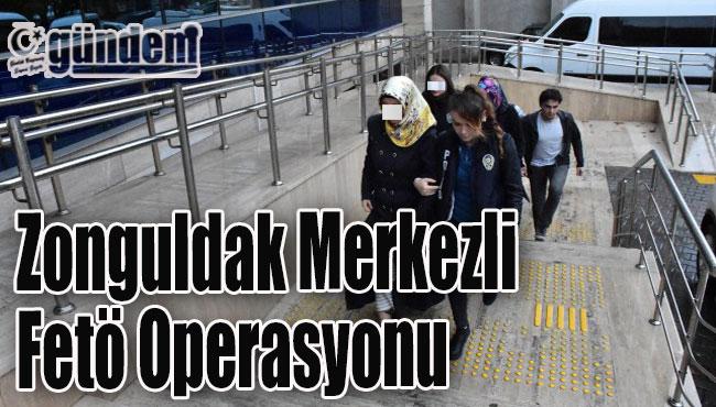 FETÖ operasyonunda gözaltına alınanlar adliyeye sevk edildi