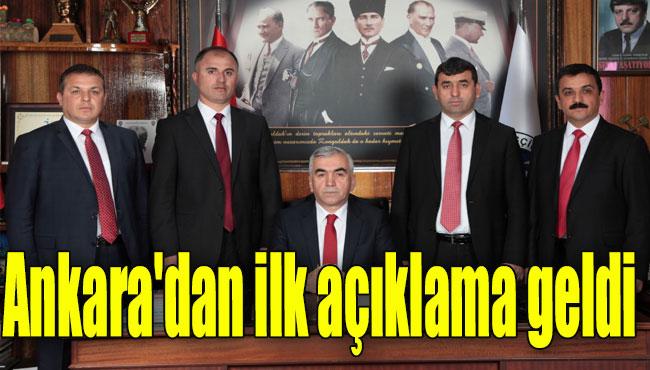Ankara'dan ilk açıklama geldi