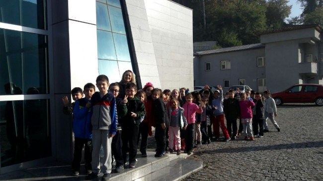 Zonguldak'ta Minik öğrenciler Maden Müzesi'ni gezdi