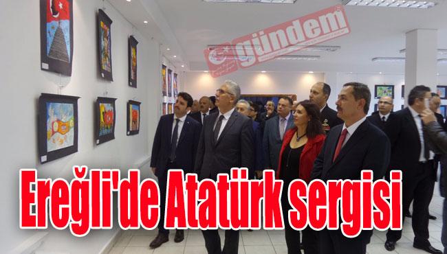 Ereğli'de Atatürk sergisi