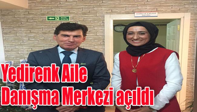 Zonguldak'ta, Yedirenk Aile Danışma Merkezi açıldı