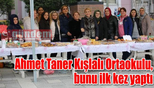 Ahmet Taner Kışlalı Ortaokulu, bunu ilk kez yaptı