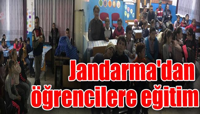 Jandarma'dan öğrencilere eğitim
