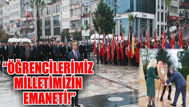 'ÖĞRENCİLERİMİZ MİLLETİMİZİN EMANETİ!'