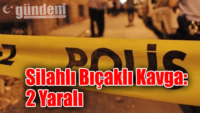 Akçakoca'da silahlı bıçaklı kavga: 2 yaralı