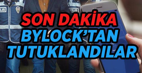 BYLOCK ŞÜPHELİLERİ ADLİYE'DE