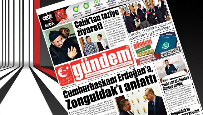 02 Aralık 2017 Gündem Gazetesi