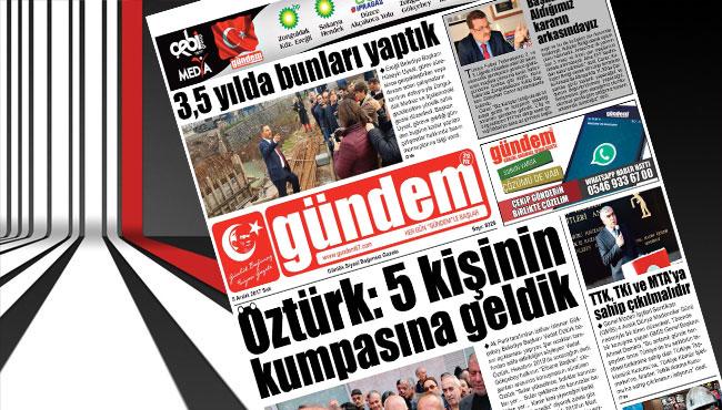 05 Aralık 2017 Gündem Gazetesi