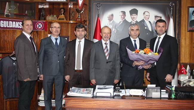 Zonguldak İl Hakem Kurulundan GMİS e ziyaret...