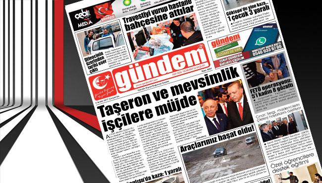 06 Aralık 2017 Gündem Gazetesi