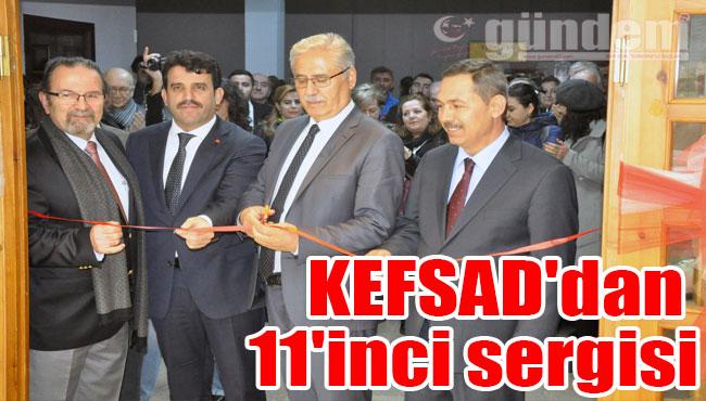 KEFSAD'dan 11'inci sergisi