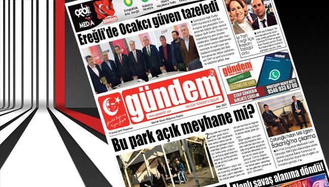 11 Aralık 2017 Gündem Gazetesi