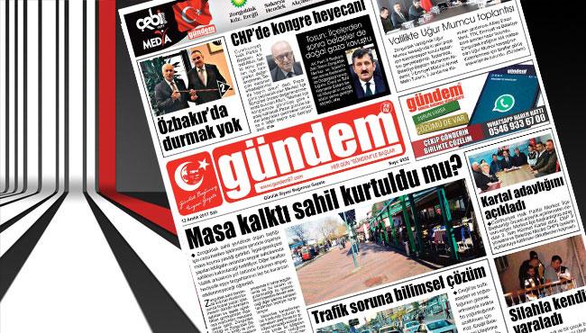 12 Aralık 2017 Gündem Gazetesi