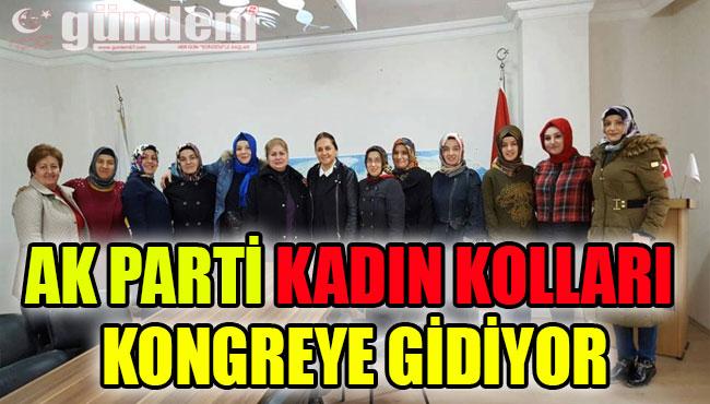 AK PARTİ KADIN KOLLARI KONGREYE GİDİYOR