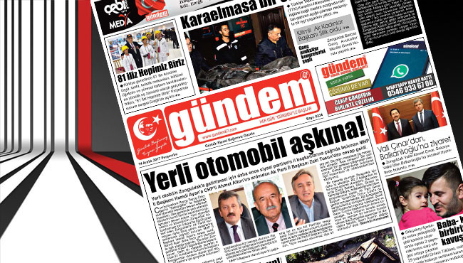 14 Aralık 2017 Gündem Gazetesi