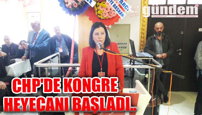 CHP'de Kongre Heyecanı Başladı..