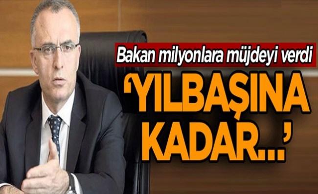 Ağbal: Taşerona kadroyu yılbaşına kadar çıkarmayı planlıyoruz