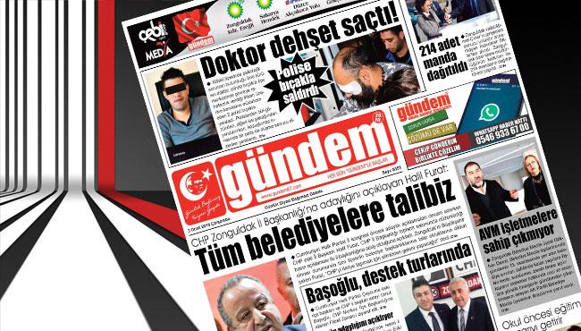 03 Ocak 2018 Gündem Gazetesi