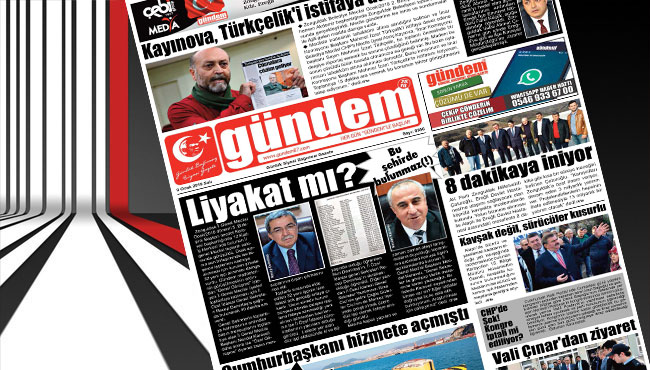 09 Ocak 2018 Gündem Gazetesi