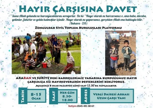 Suriyeli Çocuklara Yardım Edecekler...