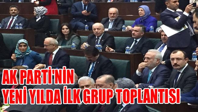 Ak Parti'nin yeni yılda ilk grup toplantısı