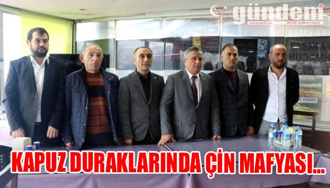KAPUZ DURAKLARINDA ÇİN MAFYASI...