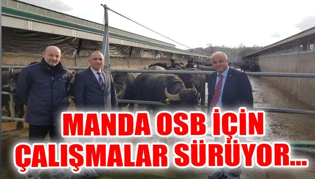 MANDA OSB için çalışmalar sürüyor...