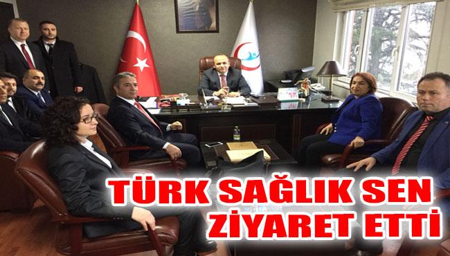 Türk Sağlık Sen Ziyaret Etti