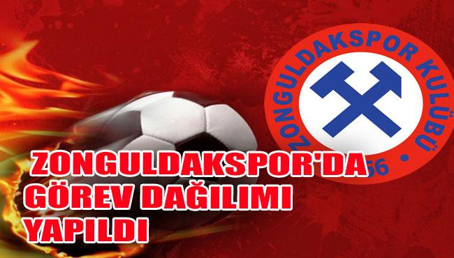 Zonguldakspor'da görev dağılımı yapıldı